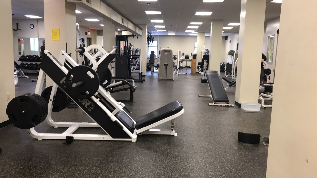 Clearfield YMCA Weight Room
